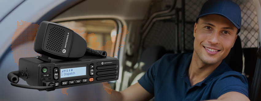 TK150 Mobile Nationwide Radio